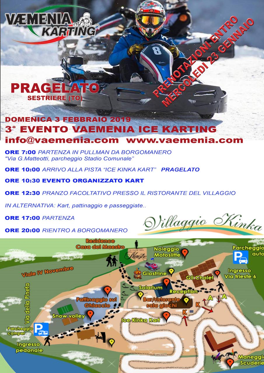 3° Vaemenia Ice Karting