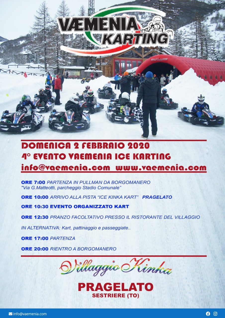 4° Evento Vaemenia Ice Karting